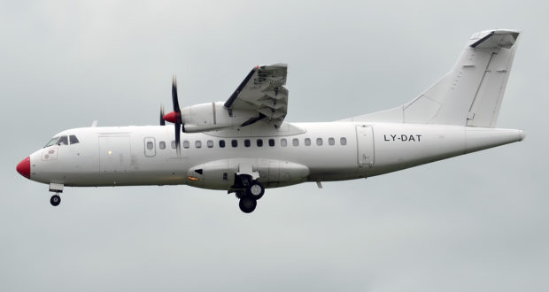 DOT LT, Kaunas, Lithuania, ATR 42, lease, Finnair, flights, routes, Norway, Finland, regional, DAT, subsidiary, norra, Nordic Regional Airlines, cabin, renovate