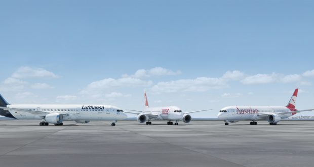 Lufthansa Group, Lufthansa, LH, Swiss, Austrian Airlines, A380, sell, buy, order, planes, aircraft, Boeing 787-9, Airbus A350, long-haul, engines, efficiency