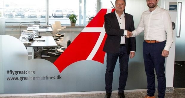 Eigild Bødker Christensen, CEO, Thomas Hugo Møller, Great Dane Airlines, owners, Aalborg, airport, routes, flights, destinations, Jutland, Denmark, airline, travel, tourism, Dublin, new, shares, Huy Duc Nguyen