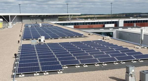 Finavia, Helsinki, Finland, airports, carbon, neutral, emissions, climate, plan, program, offsetting, vehicles, electricity, heating, solar, wind