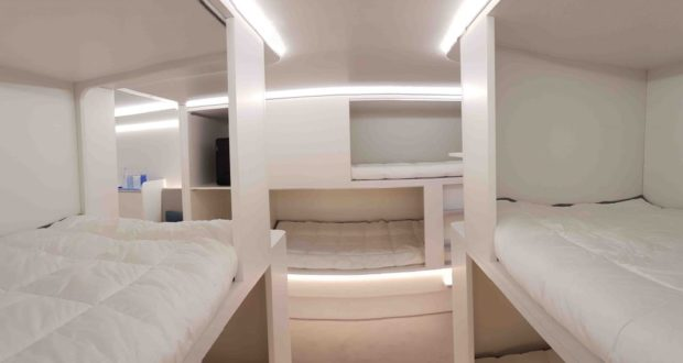 Airbus, module, cargo, hold, beds, business travel, flight, airline, design, prize, award, Safran, Cabin Concepts, 2019 Crystal Cabin Awards