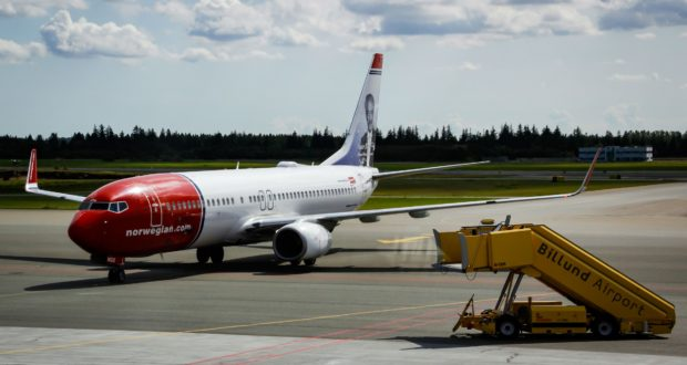 Norwegian, Billund, base, Boeing, aircraft, flights, destinatins, summer, 2019, Bravo Tours, leisure, travel, tourism, holiday, Denmark, Spain, scandinavia, Nordic, market share, countries, Norway, base