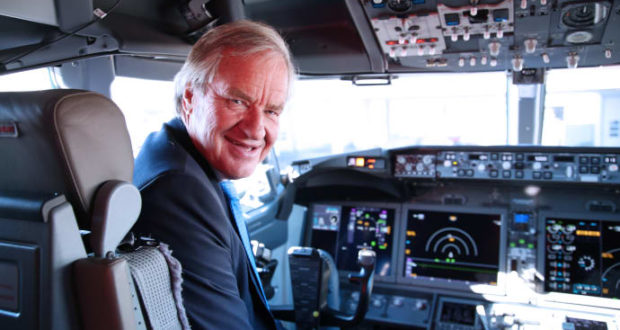 Norwegian, family, CEO, Bjørn Kjos, Boeing, MAX 8, aircraft, safe, software, test, Seattle, visit, grounding, update, new, try, simulator
