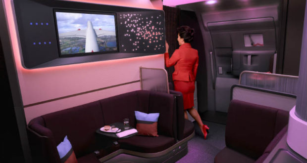 Virgin Atlantic, Israel, delta, London, The Loft, A350, Upper Class, classes, features, new, cabin, travel, fly, USA, JFK, New York, Atlanta, Los Angeles, aircraft, interior, view, Heathrow, Gatwick, Sao Paolo, Tel Aviv