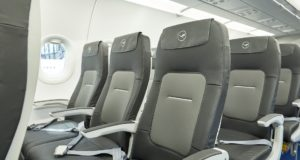 seating, airline, airplane, upholstery, usb port, A320