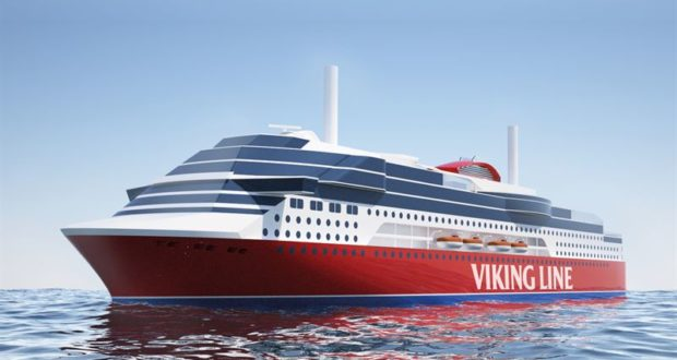 Viking Line, ship, new, launch, maiden, voyage, prize, name, Viking Glory, marketing, line, ferry, route