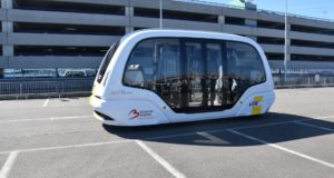 people mover, shuttle, autonomous, electric, airport, passengers