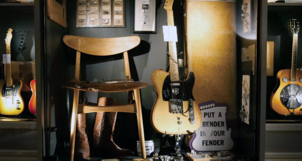 fender, telecaster, guitar, electric, museum, Sweden, Umea