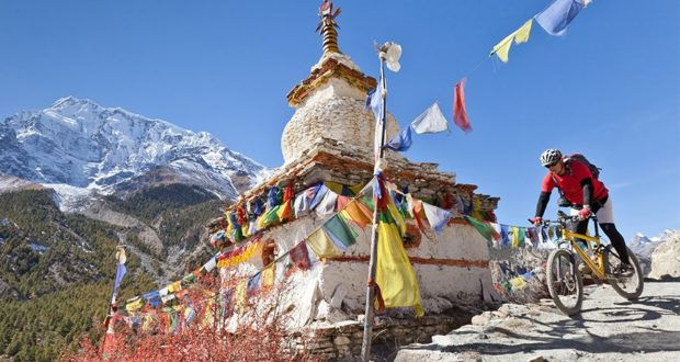 cycle, Everest, Nepal, tour, ride