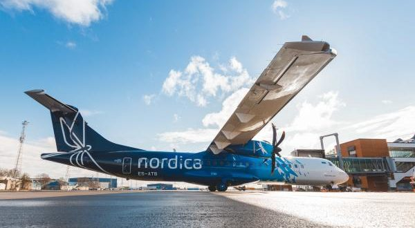 Nordica, LOT, own colours, operating, ticketing