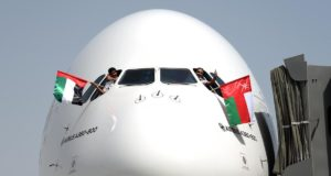 Emirates, A380, world, shortest, flight, route, Oman, Dubai, Amman, Jordan, travel, visit, times, too many, fleet