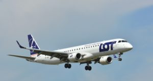 Embraer 195, LOT, Polish Airlines, Beirut, Lebanon, Warsaw, Poland, new route, Chopin Airport