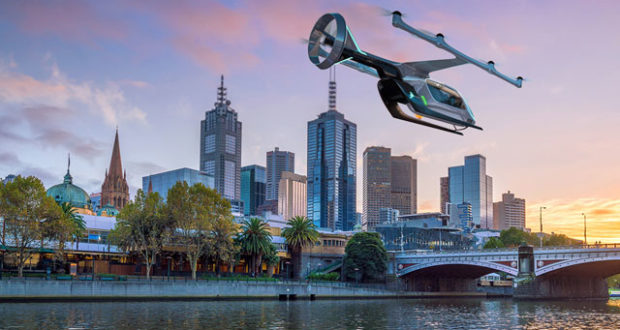 Uber Air, helicopter, Melbourne, Australia, taxi service, trial, pilot, urban