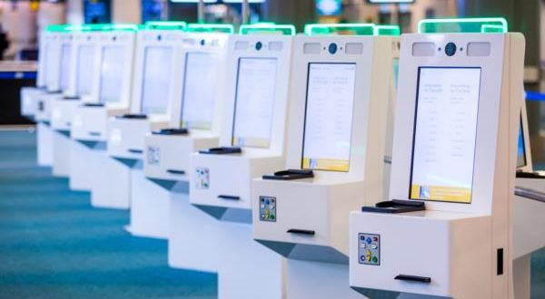 automated border control, bio-metrics, facial recognition, kiosk, airport, Vancouver, Keflavik, Iceland, image,