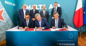 Ryanair, Malta air, Malta, airline, new, air malta, Africa, market, reasons, analysis, fleet, aircraft, O'Leary, comment, government, register